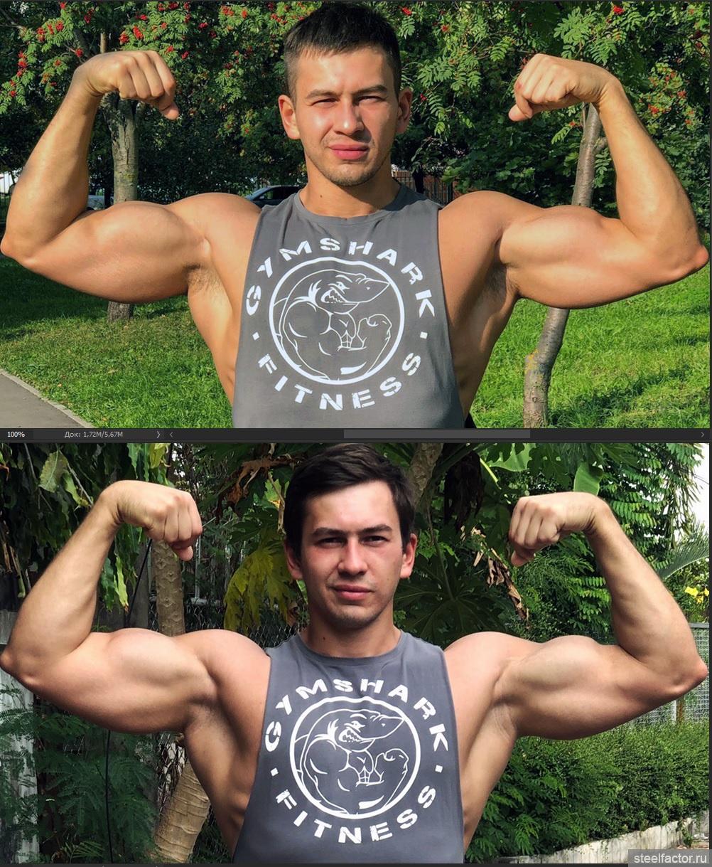 Автототемм фото до и после они