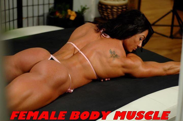 мускулистая фото девушка попа